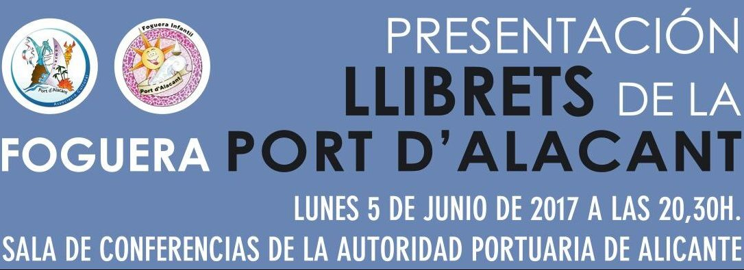 Presentación Llibrets Port d'Alacant
